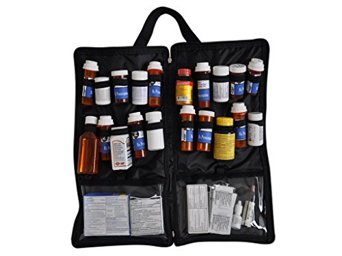 Prescription medication 20 supplements organizer product image