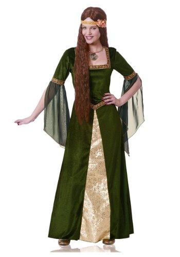 Renaissance Lady Adult Costume - (Celtic Woman Costume)