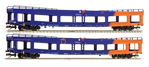 Tillig ティリッヒ 01668 TT 1/120 自動車輸送列車 車運車 貨物車