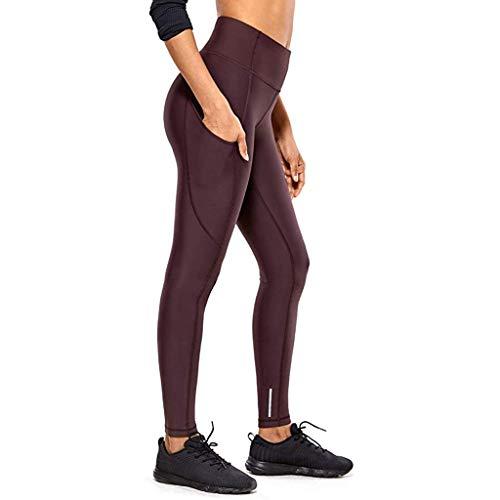 [해외]XCeihe Women Fashion Quick-Drying Fitness Pants High Waist Stretch Tight Gym Leggings Hidden Pocket Yoga Pants Trousers / XCeihe Women Fashion Quick-Drying Fitness Pants High Waist Stretch Tight Gym Leggings Hidden Pocket Yoga Pant...