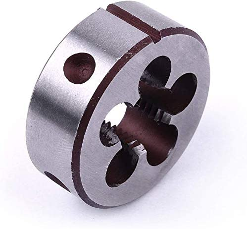 Utoolmart M4/×0.7 Round Die Fine Grinding Quality Alloy Manual Pipe Tapping Tap Tool Tap Die Set Wire Thread Tool
