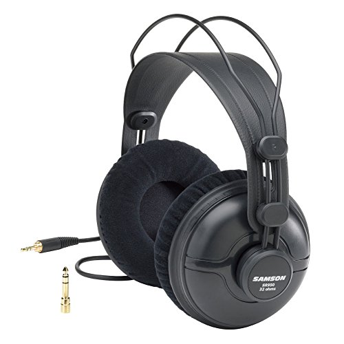 (Samson SR950 Professional Studio Reference Headphones)
