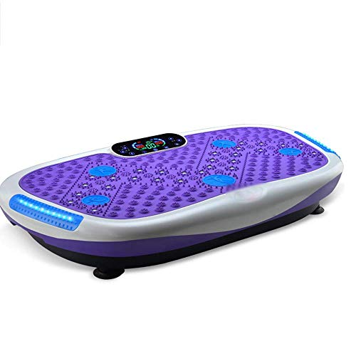 MJ-Sports Oscillating Platform, Vibration Power Plates Trainer Fitness Machine with Remote Control and Bluetooth Music, Whole Body Shaking Massager