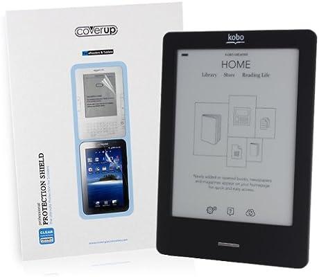 Cover-Up - Protector de pantalla cristalino para Kobo eReader Touch Edition: Amazon.es: Electrónica