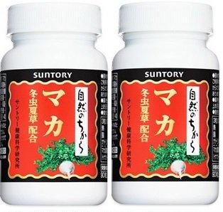 【2本セット】サントリー マカ冬虫夏草配合  90粒入   B015CQ949O
