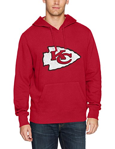 Kansas City Chiefs Hooded Sweatshirts. NFL Kansas City Chiefs Men s OTS  Fleece Hoodie Distressed Shirt 60e2d9191