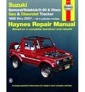 amazon com haynes publications inc 90010 repair manual automotive rh amazon com haynes repair manual suzuki vitara haynes suzuki samurai repair manual