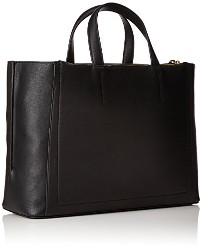 Tote Klein Metropolitan black Cabas Noir Calvin 7g0qx