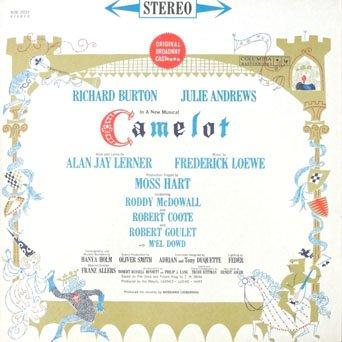 Camelot Vinyl - Camelot Original Broadway Cast Richard Burton, Julie Andrews