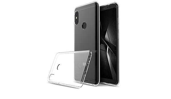 Kugi Funda Xiaomi Mi 7 Lite,Xiaomi Mi 7 Lite TPU Transparente Slim ...