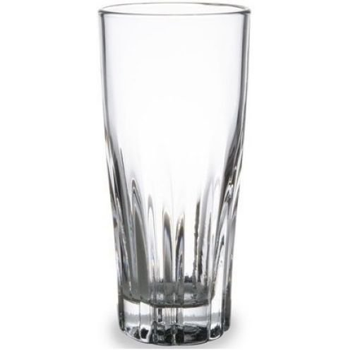 Anchor Hocking Augusta Rim Tempered Collins Glass, 12 Ounce -- 24 per case. by Anchor Hocking