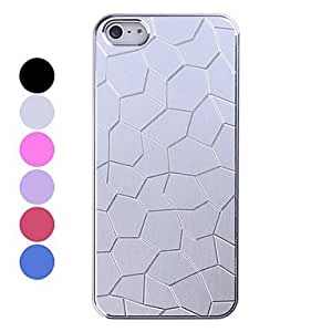HP DFAluminum Crack Pattern Back Case for iPhone 5/5S(Assorted Colors) , 6