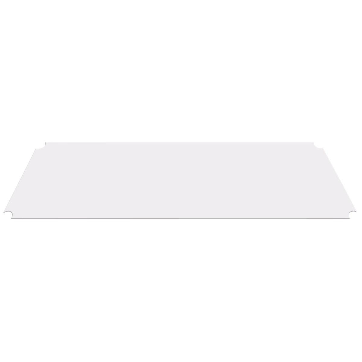 AKRO-MILS  AW1848LINER - Clear Shelf Liner for 18-inch X 48-inch Chrome Wire Shelf - Pack of 4 by Akro-Mils