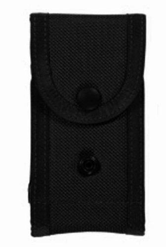 Bianchi, M1025 Military Double Magazine Pouch, Black, Size 01