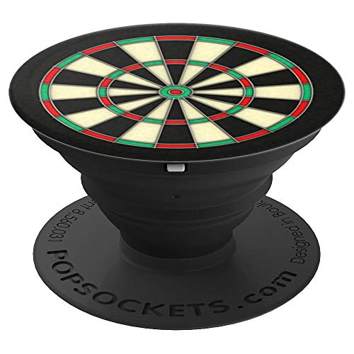 Darts Gift Bulls Eye Cricket Dart 501 Beer College Beer Game - PopSockets Grip and Stand for Phones and Tablets (501 Eye)