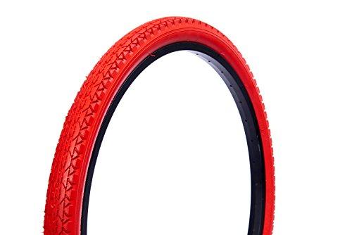 - Wanda Beach Cruiser Tires, Red, 26