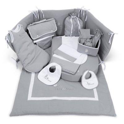 Conjunto de ropa de cuna y complementos hospital para el bebé - Dulces Sueños de BebeDeParis