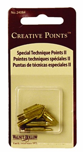 Walnut Hollow Replacement Points Tips for Woodburners and Hot Tools Set No2