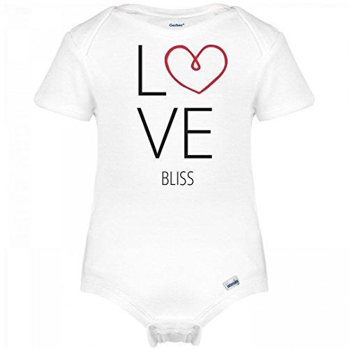 Bliss Onesie (Love Bliss With Heart: Infant Gerber Onesies)