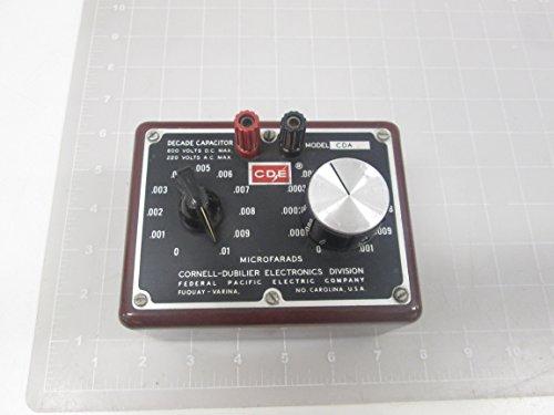 Capacitor Decade (Cornerll-Dubilier CDA2 Decade Capacitor T64348)