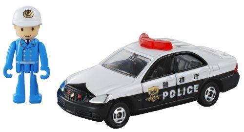 パトロールカー #110(ホワイト×ブラック) 「トミカ&プラキッズ」