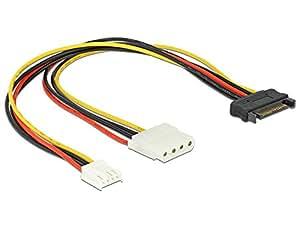 DeLOCK 65227 - Cable SATA (0.3 metros)