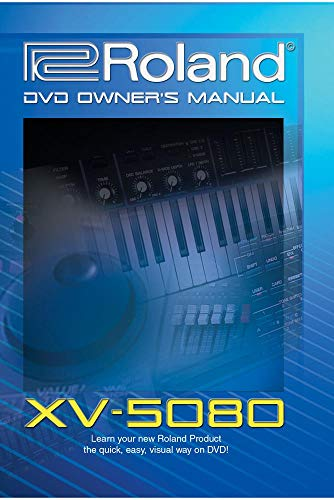 Photo Roland XV-5080 DVD Video Training Tutorial Help