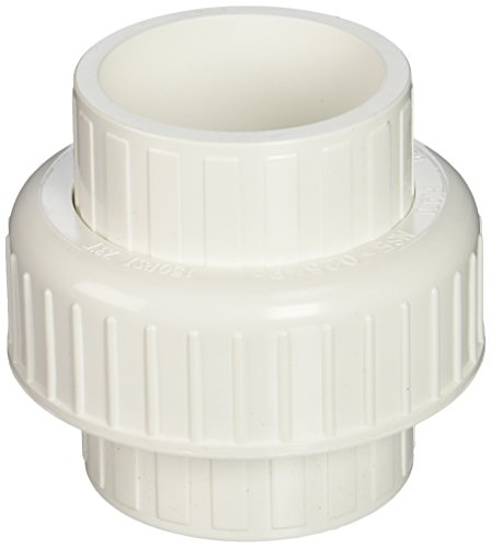 B and K Industries 164-638 2-Inch PVC Schedule 80 Solvent Unions (2 Inch Pvc Slip)