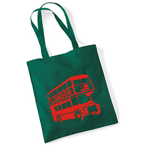 Bus London Sinclair Bag Edward Shopping Bag London Tote 2 Green Design Bottle SEB55dxng