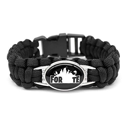 Youth Boys Bracelet Wristband for Battle Royale Tnite Video Game Gift H+Logo]()