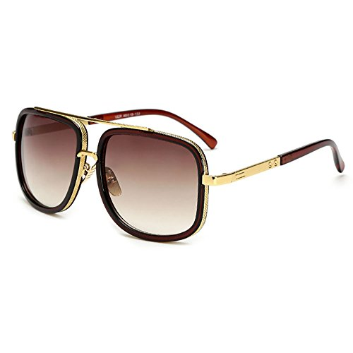 New Women Square Sunglasses Men Fashion classical Sun Glasses - Eyewear Axis