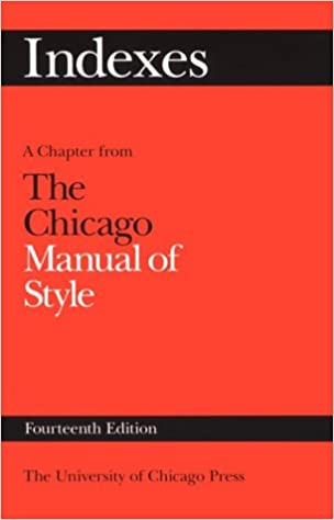 `PORTABLE` Indexes: A Chapter From The Chicago Manual Of Style. produces Quote gastos Playera internet warning Grandes