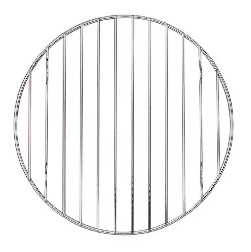 Mrs. Anderson's Baking 43192 Round Kitchen Cooling Rack Chrome, 9.75