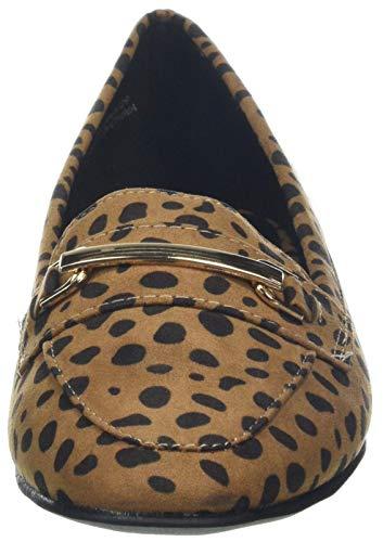 Donna New Look Jar Marrone Mocassini Wide Foot Pattern 29 brown qPCxqX