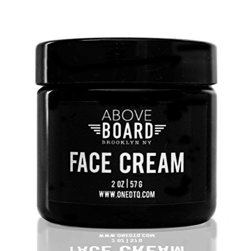 Above Board Anti-Aging Cream For Men; Natural and Organic Anti Wrinkle Night Face Cream; 2 Ounce; Unscented Men's Facial Care