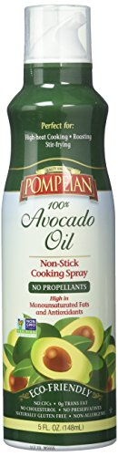 Fat Free Butter Spray - Pompeian Cooking Spray, Avocado Oil, 5 Ounce