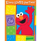 Elmo Loves You Invitations and Thank You Cards, 16pc