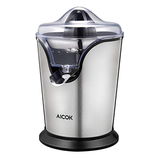 Great Features Of Aicok Citrus Juicer Electric 100W Stainless Steel Citrus Juicer Squeezer with Anti...