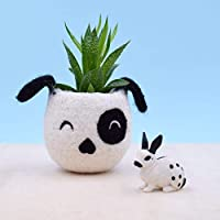 Dog lover gift | Mother day gift, gift for her, succulent planter pot, Small succulent pot, Cactus planter gifts, dog head planter, dog vase