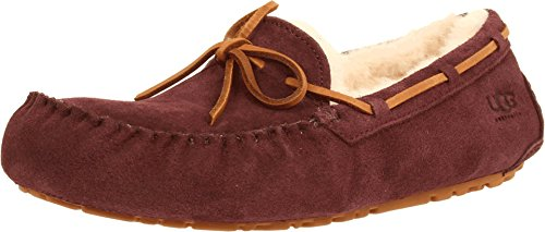 UGG Men's Olsen Cordovan Suede Slipper 18 D - Medium -