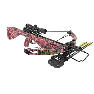 Parker X401-MR Challenger Pink Crossbow with Scope