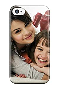 Jim Shaw Graff's Shop 1255938K23454447 Premium Protective Hard Case For Iphone 4/4s- Nice Design - Selena Gomez In Ramona And Beezus