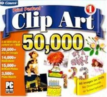 50000 Prints - Print Perfect Clipart 50,000