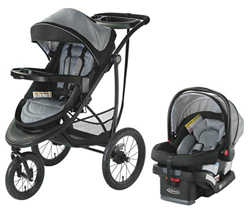 Graco Modes Jogger SE Travel System | Includes Modes Jogging Stroller and SnugRide SnugLock 30 Infant Car Seat, Codey