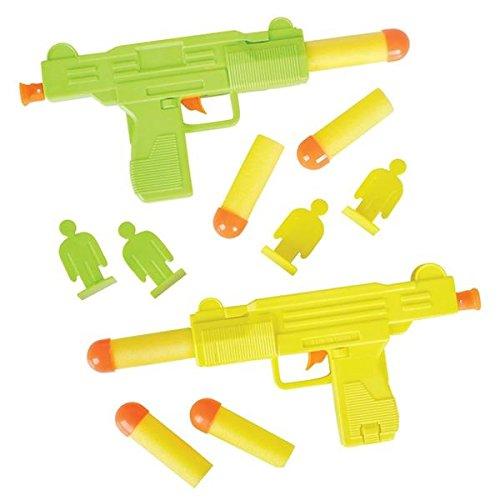 Mini Uzi Foam Dart Target Set (Toy Uzi)