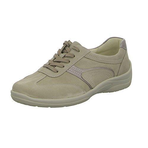 WALDLÄUFER HESNA 312008/300095 femmes Chaussures à lacets Beige qlINojDq