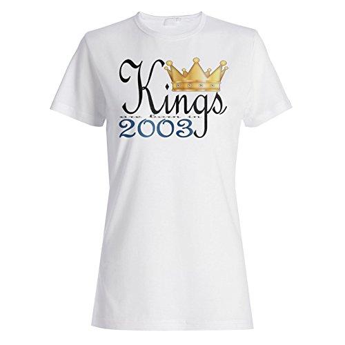 König sind im Jahr 2003 geboren Damen T-shirt b939f