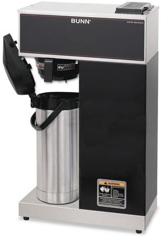 B00N3AMTLC BUNN - Airpot Coffee Brewer, Brews 3.8gal, Stainless Steel w/Black Accents VPR-APS (DMi EA 4199e1qGJUL.