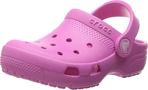 Price comparison product image Crocs Kids Unisex Coast Clog (Toddler/Little Kid) Party Pink 6 M US Toddler