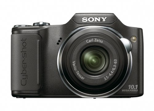 Sony Cyber Shot Dsc H20 B 10 1 Mp Digital Camera With 10x